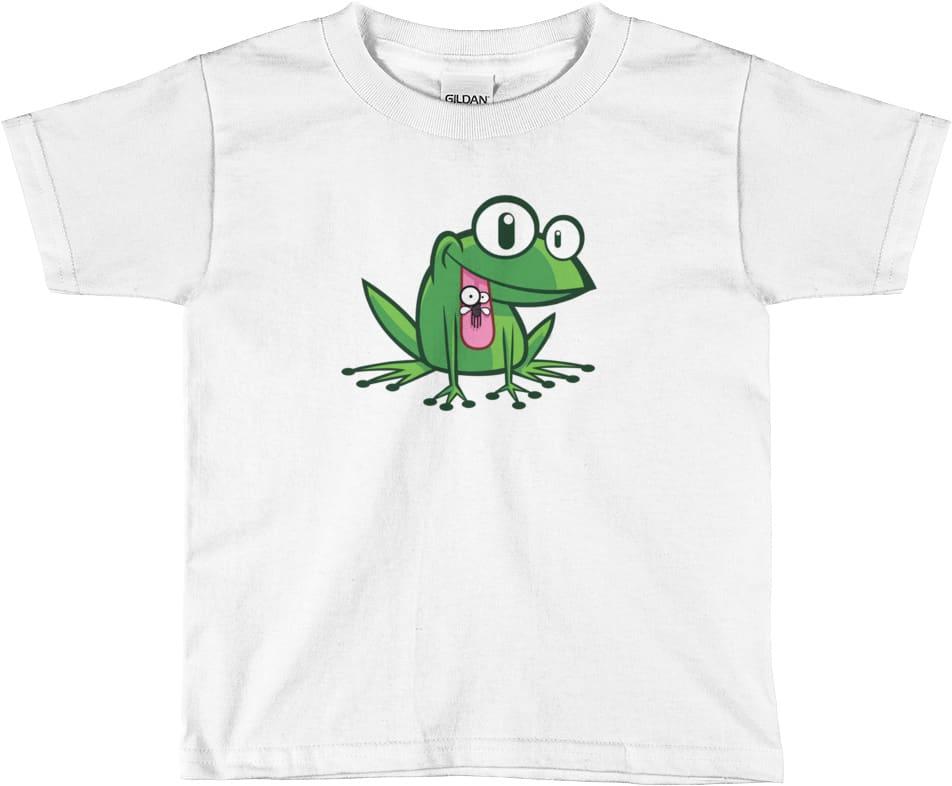 childrens-frog-tshirt-white