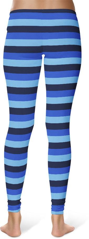 Sexy Designer Stripe Leggings