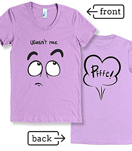 Fart Rude Tshirt