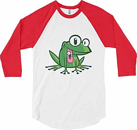 Frog Designer Baseball Tshirt