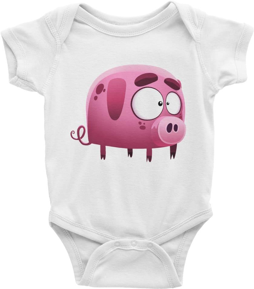 litte-piggy-designer-baby-onesies-white