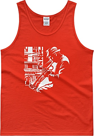 Jazz Trumpet Player – Unisex Tank Top