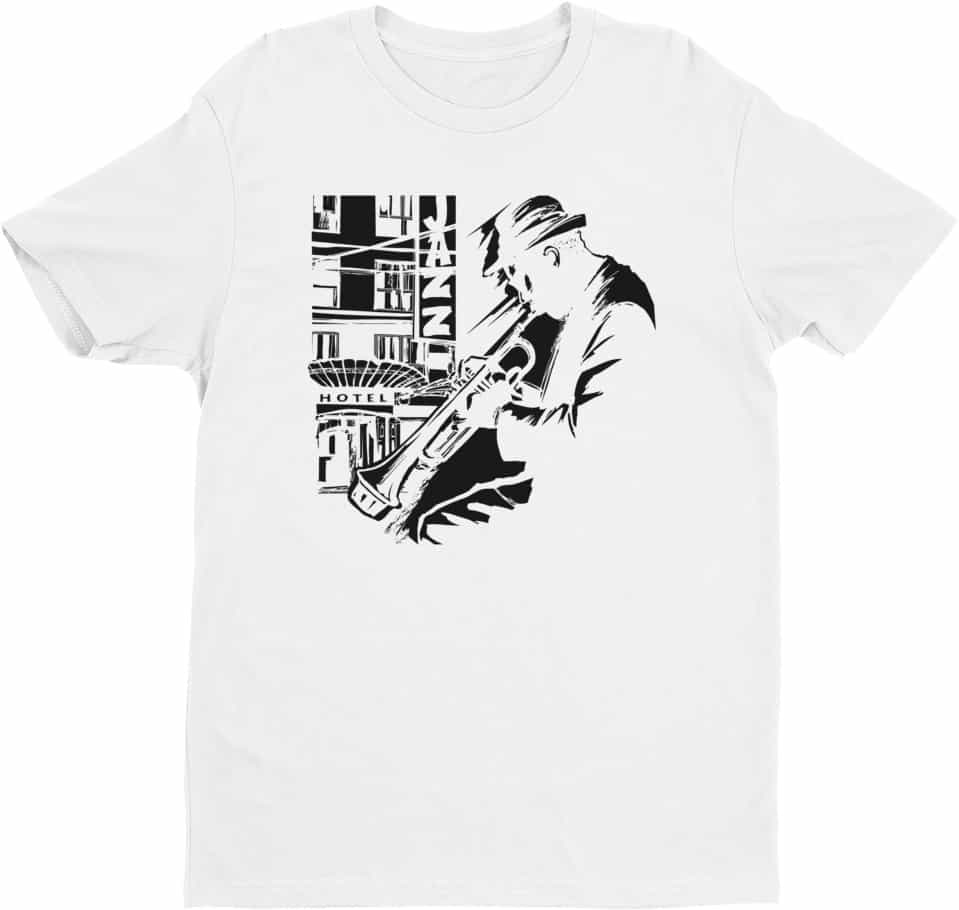 music-jazz-trumpet-player-tshirt-white