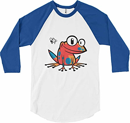 Poison Frog – Long Sleeve Baseball T-Shirt
