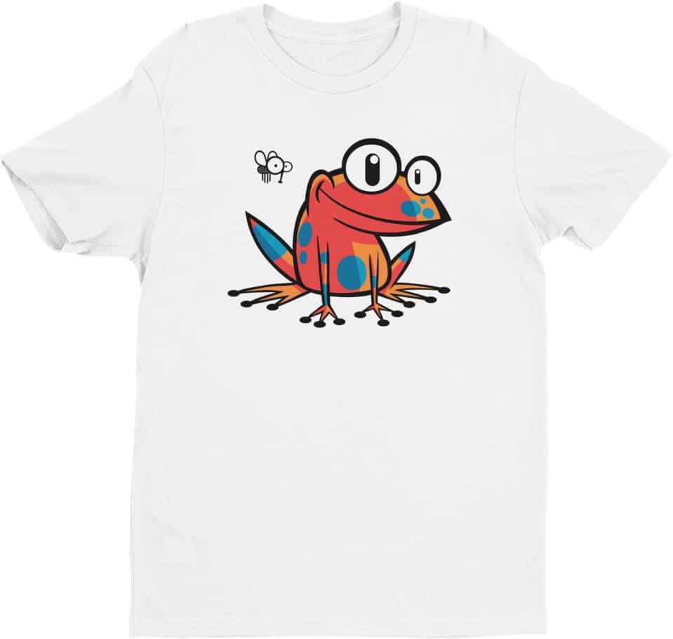 poison-frog-tshirt-reptile-white