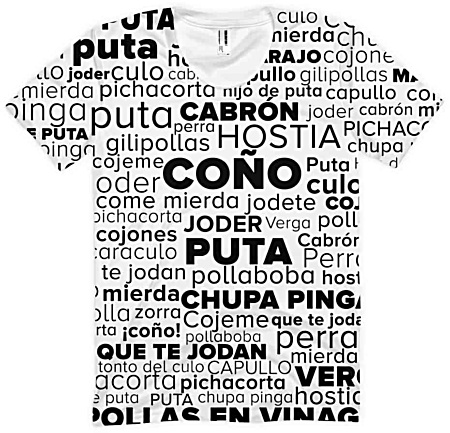 Spanish Swear Words - Women's Short Sleeve Tshirt