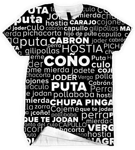 Spanish Swear Word Men's Tshirt