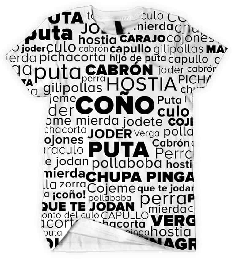 Spanish Swear Word Men's Tshirt