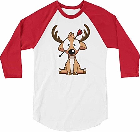 Deer Hunting Baseball Tshirt