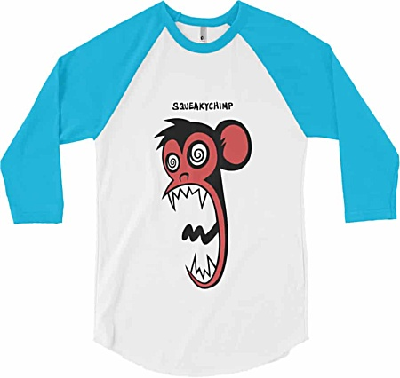 Monkey Tshirt - Long Sleeve Baseball
