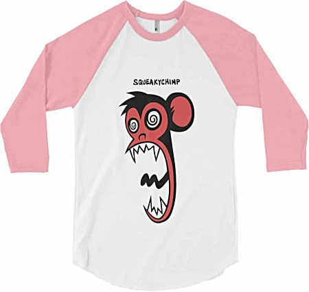Monkey Tshirt - Long Sleeve Baseball