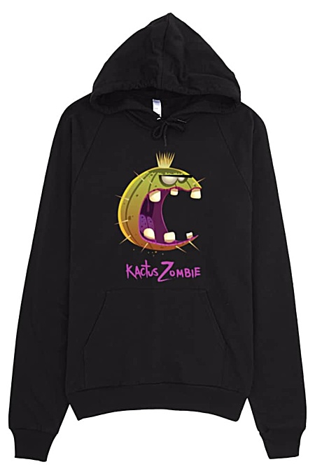 American Apparel Hoodie - Kactus Zombie