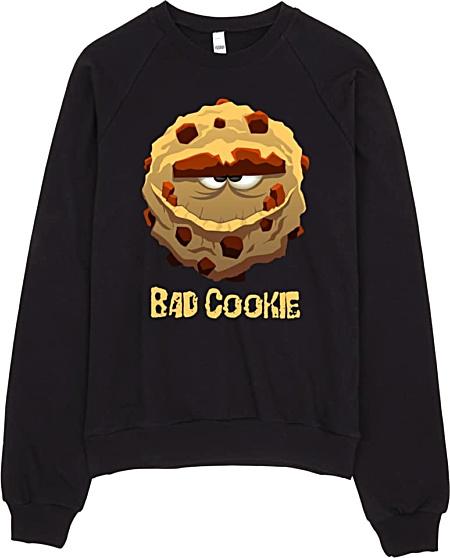 Bad Cookie Hooded Sweathirt - Hoodies
