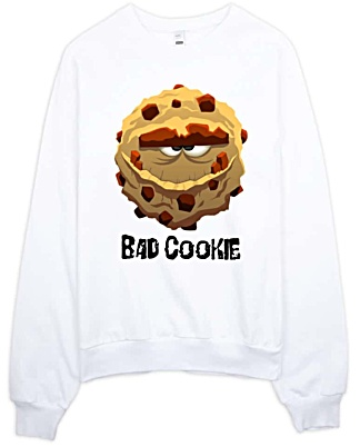Bad Cookie Hooded Sweathirt - Hoodies
