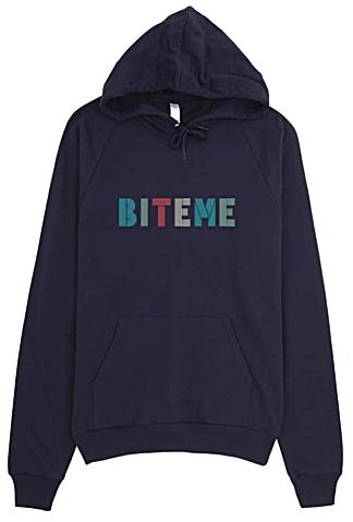 Bite Me Hoodie - Rude Sweatshirts