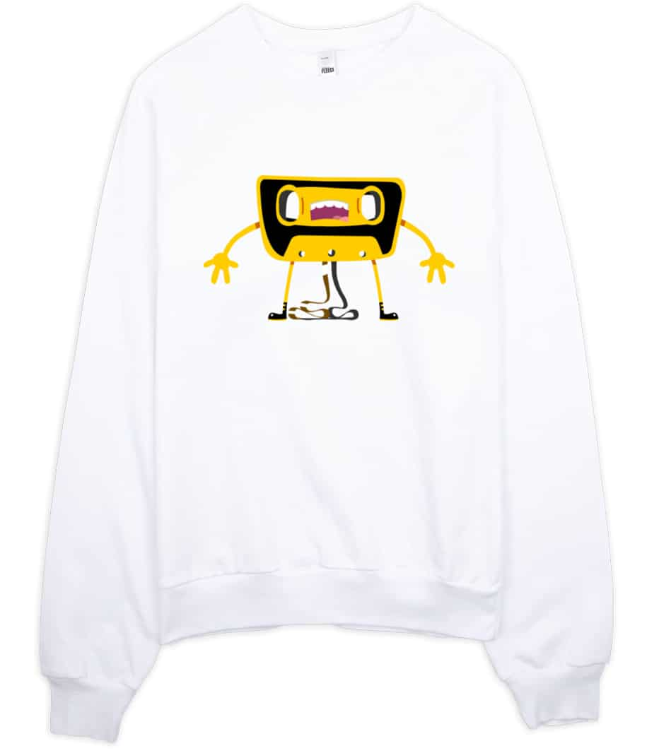 Casette Unwound Retro Sweatshirt