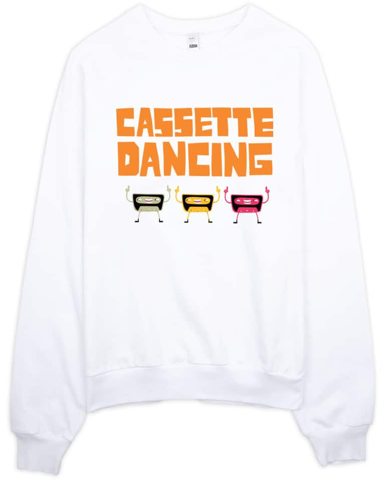cassette-dancing-sweatshirt-white