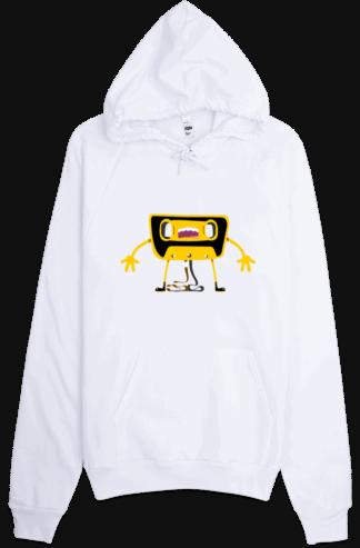 Casette Unwound Retro Hoodie Sweatshirt