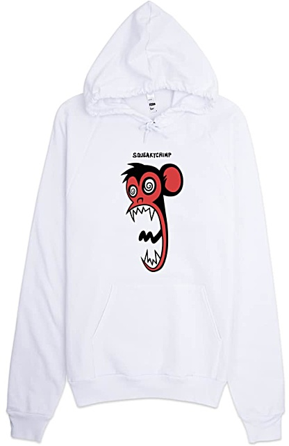 Squeaky Chimp Crazy Monkey Hoodie