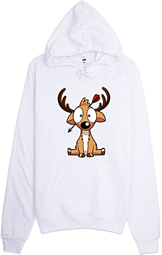 Dead Deer - Unisex Hunter Sweatshirt Hoodie