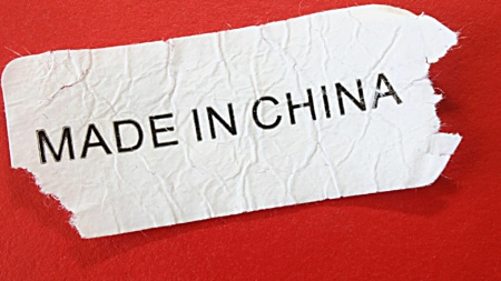 Problems buying clothing made in China