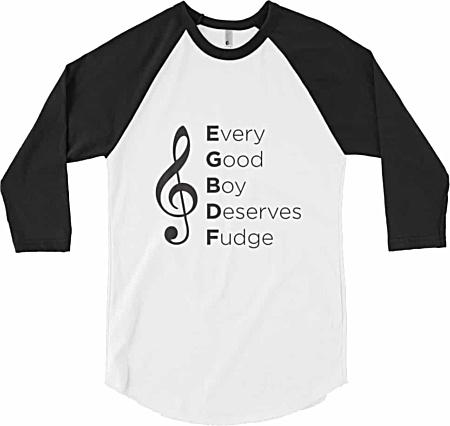 Every Good Boy Deserves Fudge Music Tshirt
