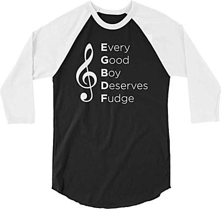Every Good Boy Deserves Fudge Music Tshirt