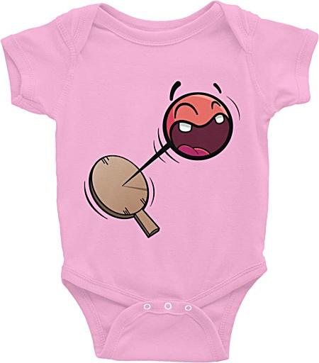 Paddle Ball baby infant designer onesie