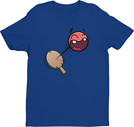 Retro Paddle Ball Tshirt - Mens