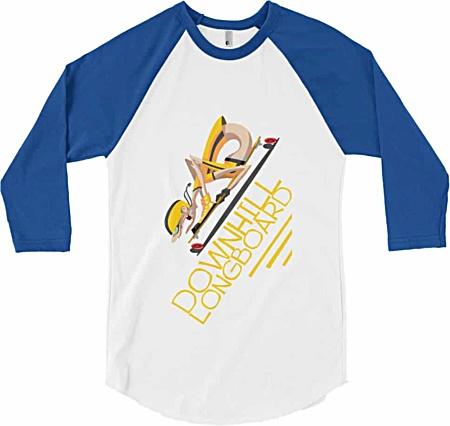 Skateboard Baseball T-shirt