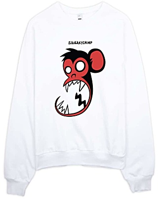 Squeaky Chimp Monkey Sweatshirt