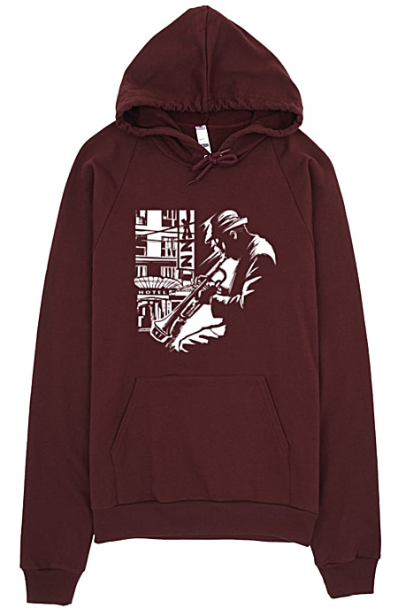 Trumpet Jazz Hoodie Sweatshirt
