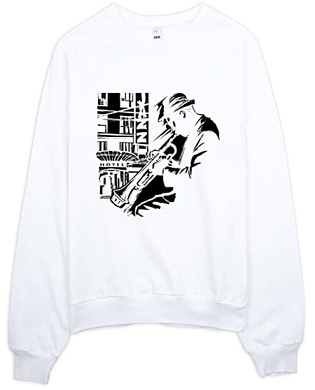 Trumpet Jazz Sweatshirt