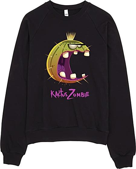 Kactus Zombie Sweatshirt American Apparel