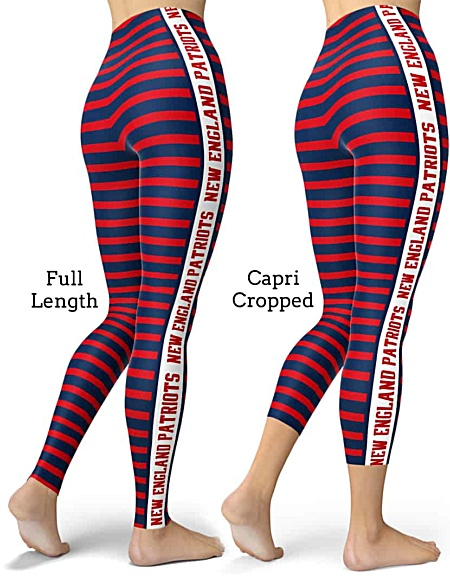 NFL Football New England Patriots Sports Leggings