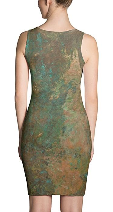 Antique Copper Rust Dress
