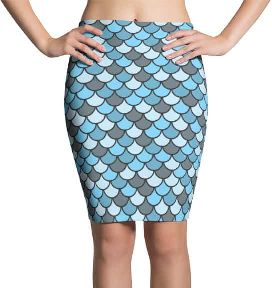 blue-fish-scales-skirt