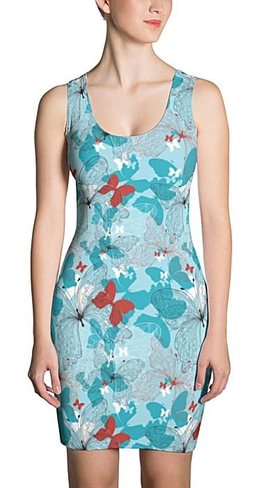 butterfly designer dress