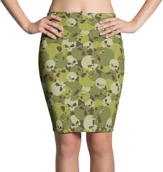 camouflage-skull-skirts