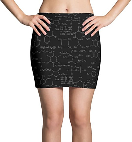 Chemistry Mini Skirt