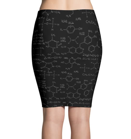 Chemistry Formula & Equation Skirt