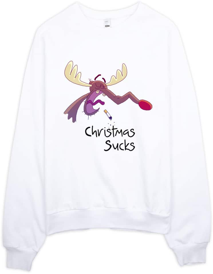 christmas-sucks-sweatshirt