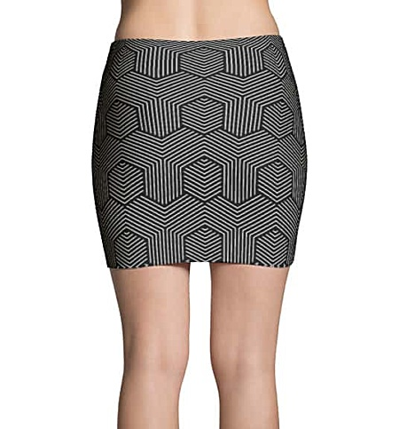 Cool Black & White Mini Skirts