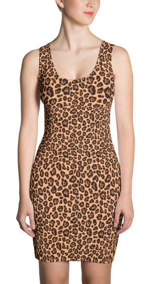 Animal Print Leopard Skin Dress