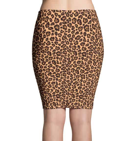 Leopard Skin Skirt