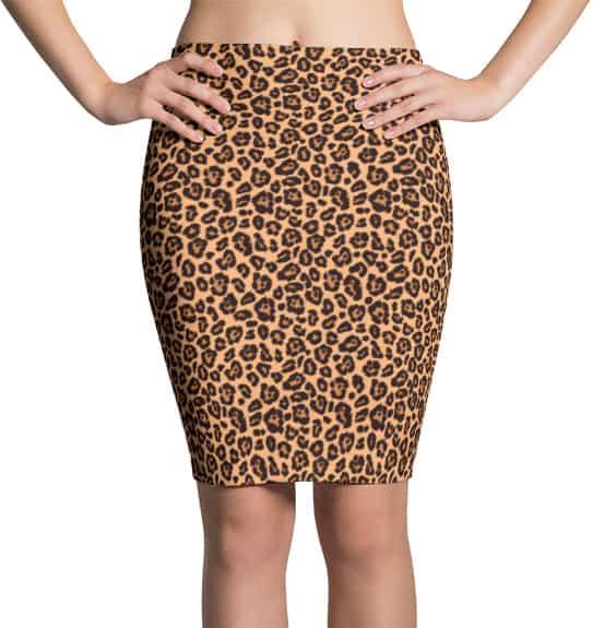 leopard-skin-skirt