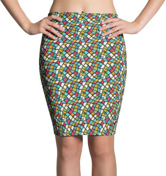 mosiac-skirt