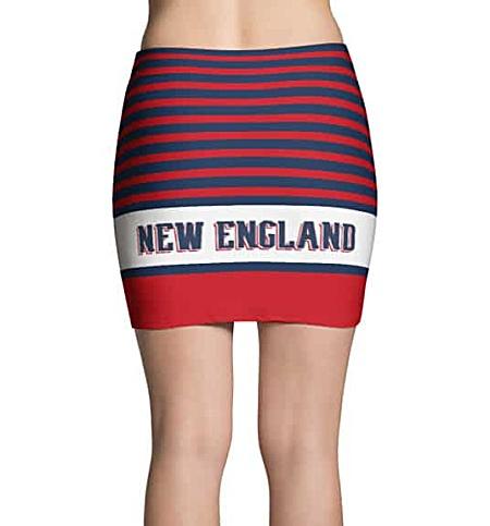 NFL Football New England Patriots Mini Skirt