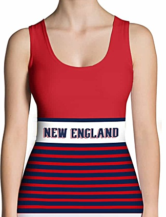 NFL Football New England Patriots Tank Top