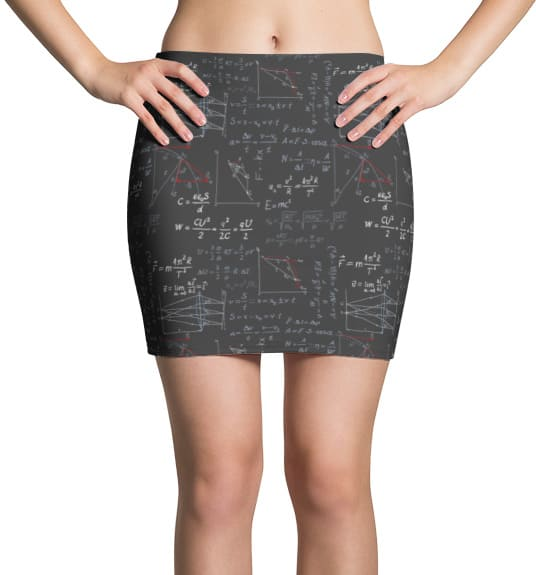 physics-formula-mini-skirt